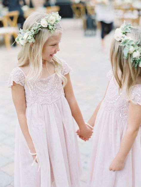 Cute bridesmaid dresses for little girls ideas 10